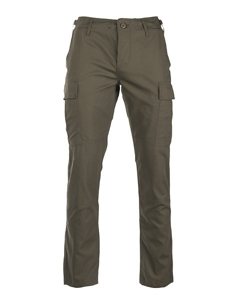 Kalhoty U.S. BDU SLIM FIT, oliv