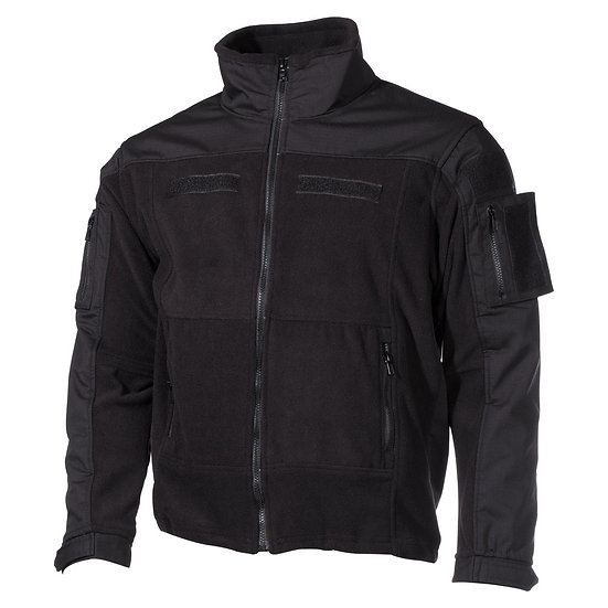 """Bunda """"COMBAT"""" fleece, černá"""