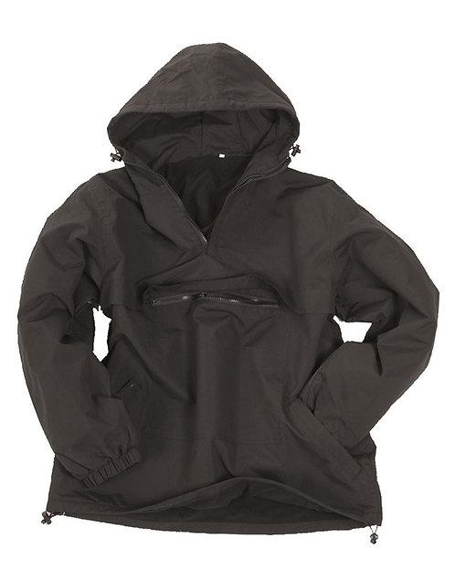 Anorak, nepromokavý, fleece podšívka, černý