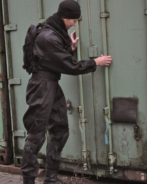Kombinéza SWAT, černá