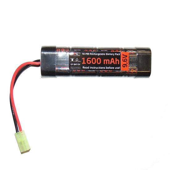 Baterie NiMH 9,6V/1600mAh