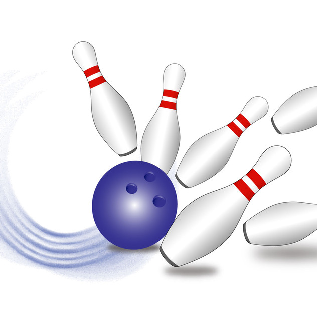 Force of a bowling ball