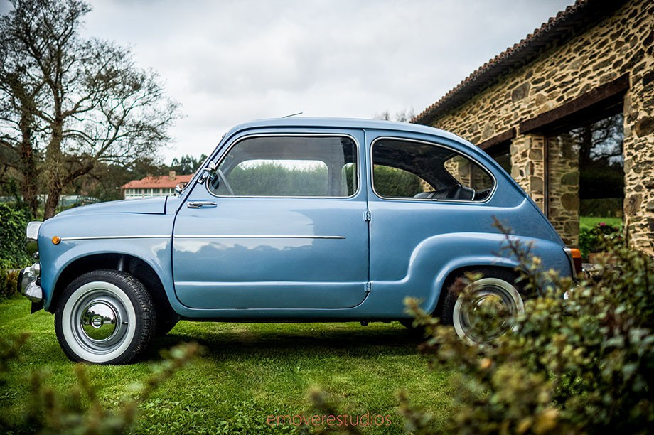Alquiler coche seiscientos Magnolia Concept