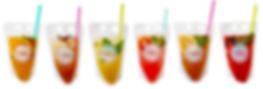 Delicious iced teas brewed with fresh ingredients and vibrant, natural flavours.