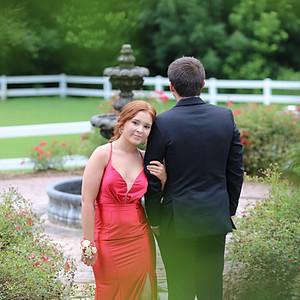 Haley & Nathan Prom