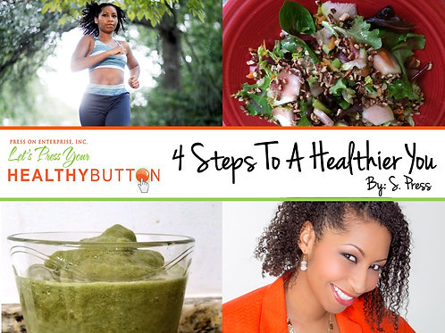 4 Steps to A Healthier You Audio CD