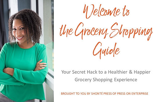 (Video Product/57 Minutes) The Grocery Shopping Guide