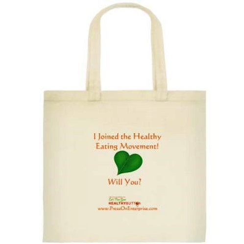 """Healthy Eating Movement"" Tote"
