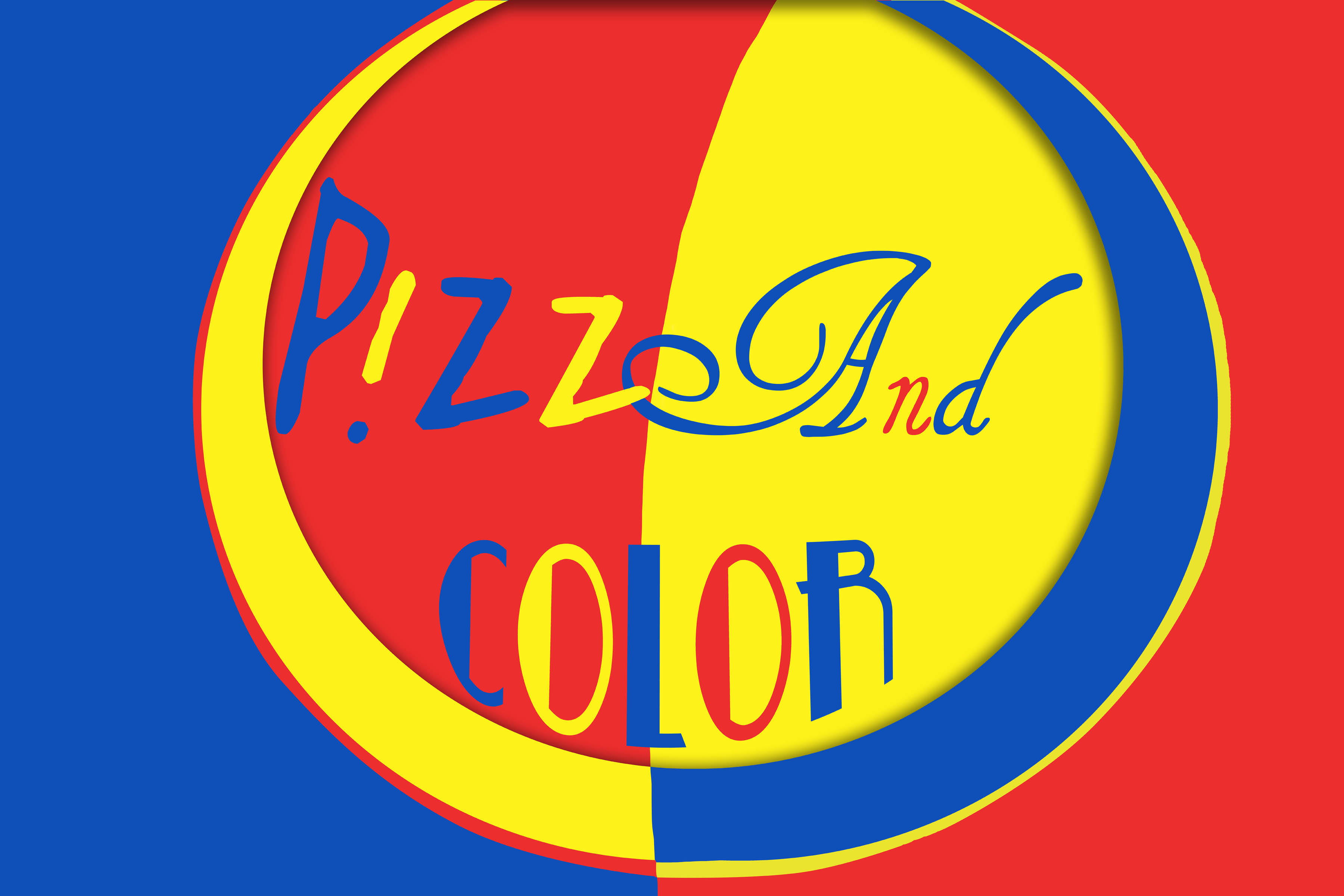 PIZZA AND COLOR j