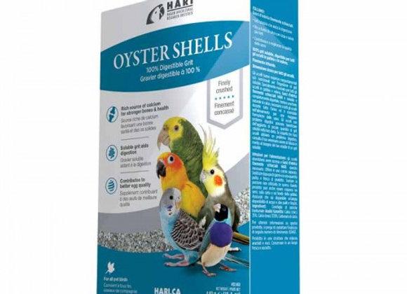 Conchas de ostras