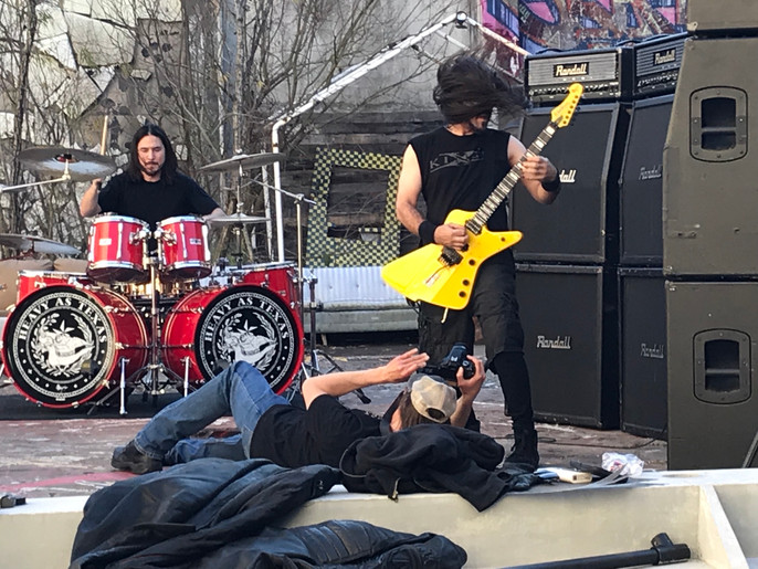 Metal Up Y'all's Ass: Heavy As Texas Tortures Journalist During Video Shoot