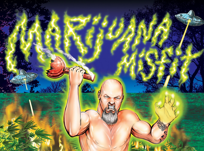 "Get A Signed Copy Of My Book ""Marijuana Misfit: Two Years Of Terror"""