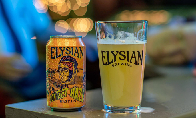 Beer Review: Elysian Brewing's Contact Haze Saved Me From Drowning In Cat Piss