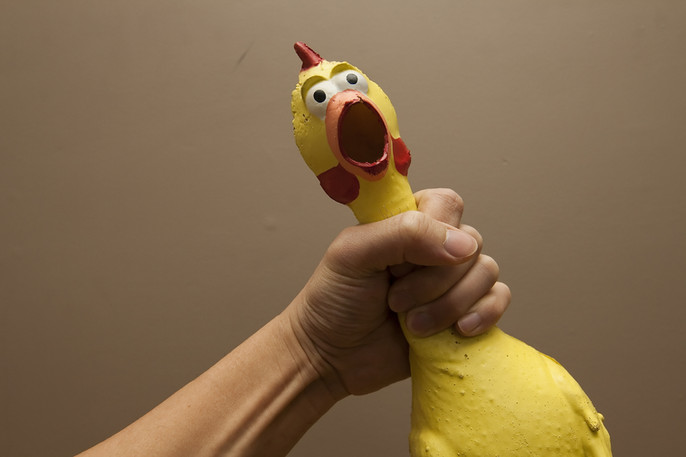 Choking The Chicken Too Tight Can Cause Problems In The Boudoir