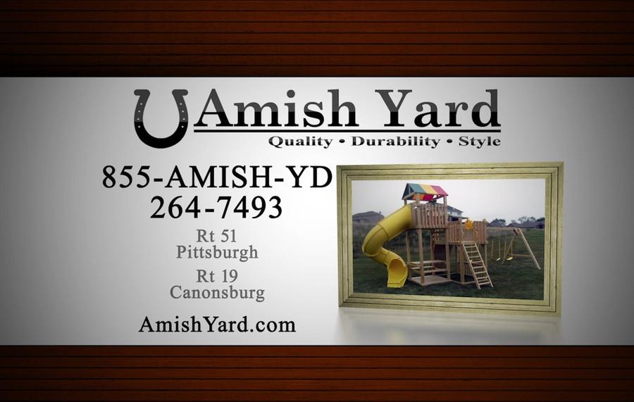 Amish Yards Playsets