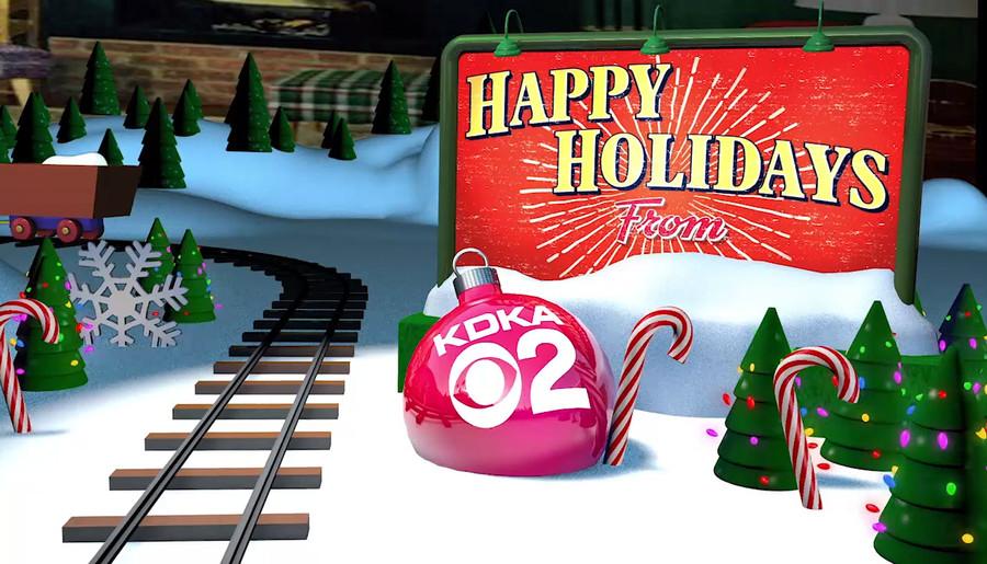 KDKA Happy Holidays Train
