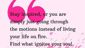 What ignites your soul?