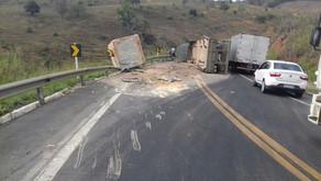 Falta de fiscalização no transporte de rochas é um tormento nas estradas capixabas
