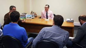 Grupo em defesa da energia renovável traça plano de estratégias em reunião com Majeski