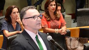 """Nova Mesa Diretora da Ales recebe voto """"não"""" de Majeski"""