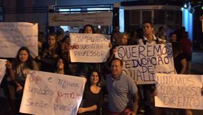Manifestação: Majeski declara apoio a alunos da Maura Abaurre