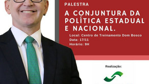 Conjud: Majeski palestrará sobre cenário político estadual e nacional