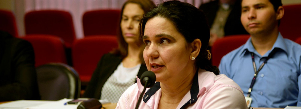 Selma Topfer, coordenadora daFeira Científico-Cultural de Santa Maria de Jetibá