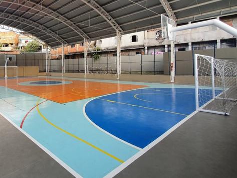 Indicações de Majeski para a construção de quadra de esporte em 72 escolas estaduais
