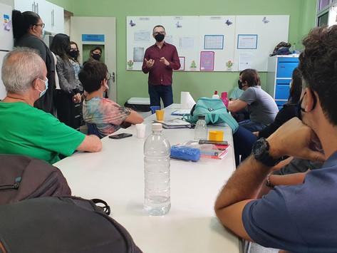 Indicação de Majeski para professores realizarem planejamento em home office