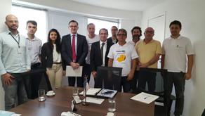 Majeski retorna a Sefaz para defender isenção de ICMS para mini e microgerador de energia limpa