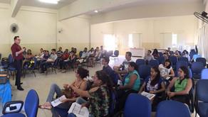 Aula sobre Reforma Política em Água Doce do Norte