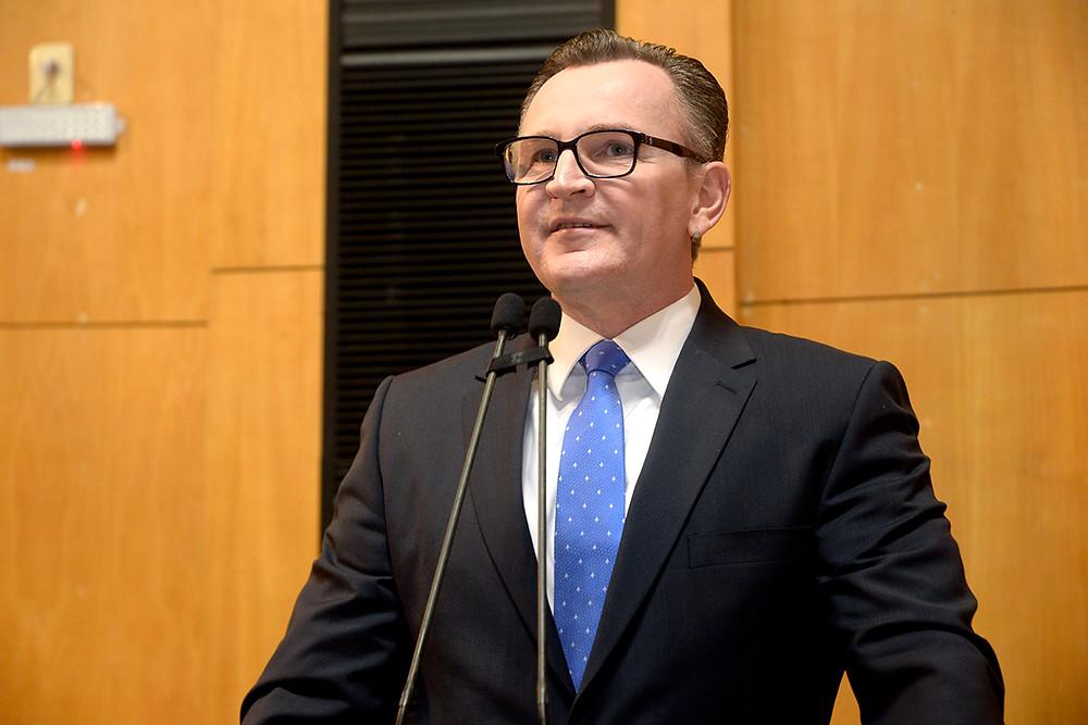 Deputado estadual Sergio Majeski - Foto: Reinaldo Carvalho / Comunicação Ales