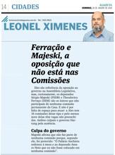 A Gazeta - Ferração e Majeski, a oposição que não está nas Comissões - 24-01-2018.jpg