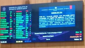 Projeto de Majeski que acabava com a falta justificada dos deputados é rejeitado por 18 votos a 3