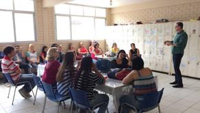Sergio Majeski visita escolas em Iúna, Irupi, Ibatiba e Brejetuba