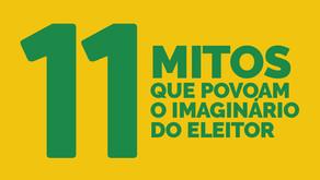Conheça mitos recorrentes durante o processo eleitoral