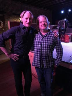 David and Barry at Thunder Road