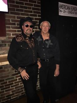 Stephen and David at Thunder Road
