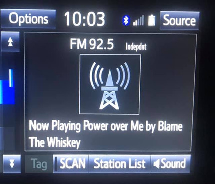 Power Over Me - 92.5 the River