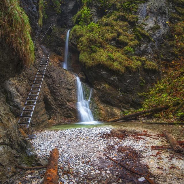 Vodopád v raji