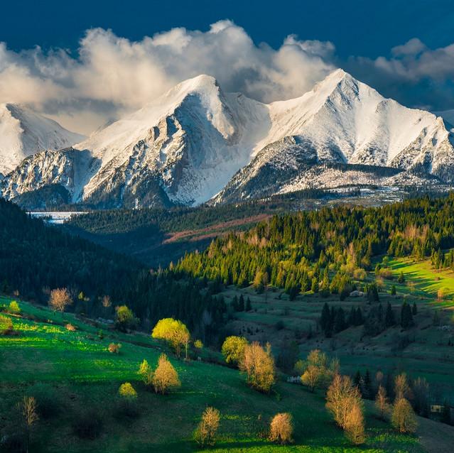 Belianske Tatry, Osturňa, Zamagurie