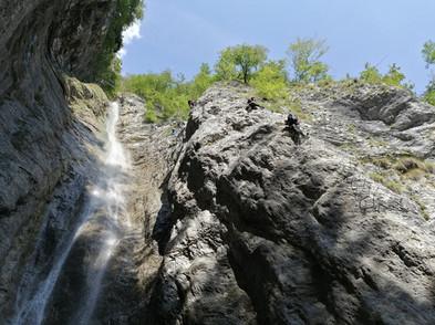 Ferrata Cascata Rio Ruzza