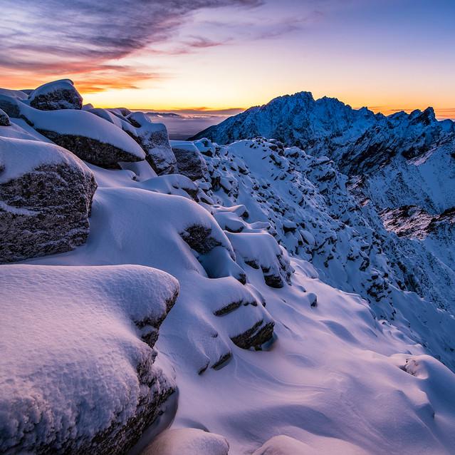 Tatranský prvý sneh