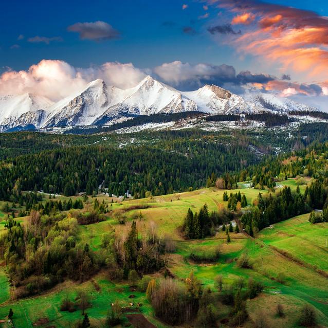 Osturňa, Belianske Tatry, Zamagurie