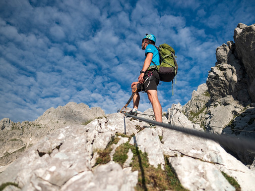 Ferrata: Königsjodler a Priel klettersteig