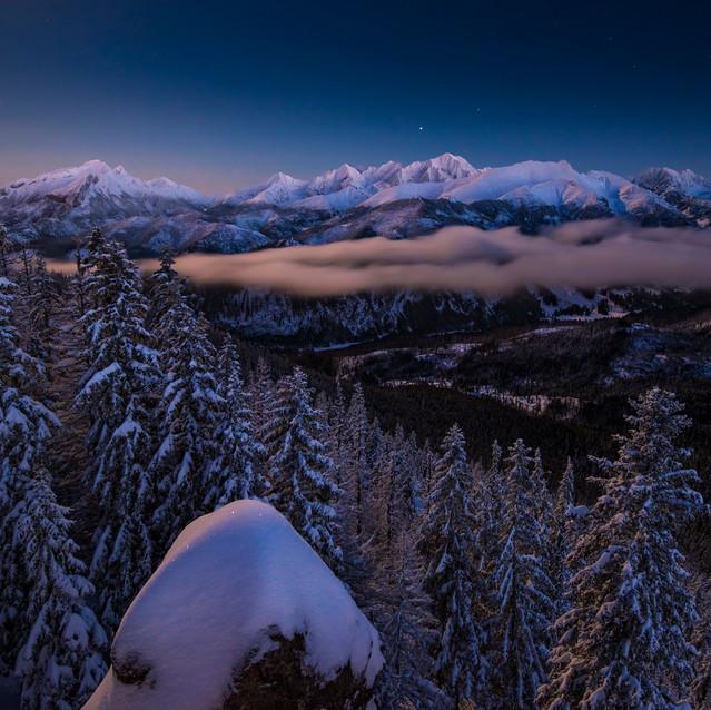 Hviezdna obloha Tatier