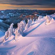 Posledné svetlo na hrebeni