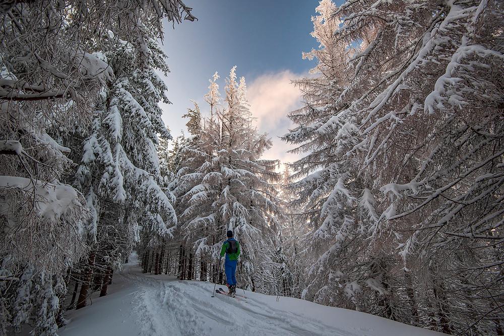 Skialpový výstup, Gesia Szyja, Vysoké Tatry