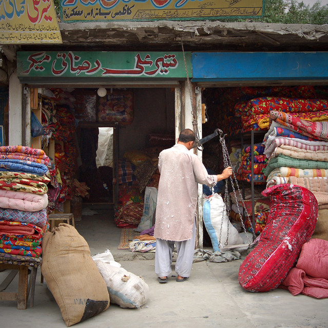 vazenie tovaru, Rawalpindi.JPG