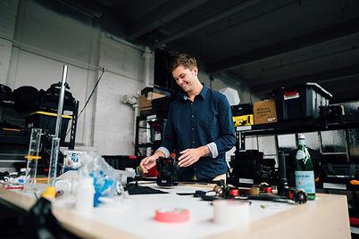 Hidden Falls Media CEO Alex Vonderhaar